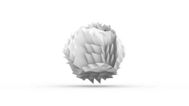 White crumpled paper dance