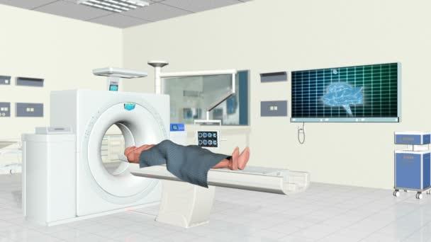 MRI szkenner a kórház