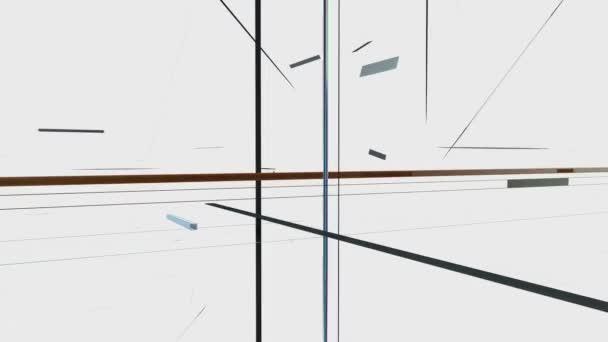 vecchia tv crystalize in una nuova tv contro telecamera bianco, statico