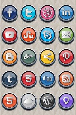 20 social classic icon v2.0