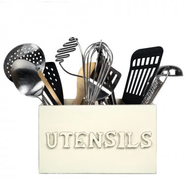 Kitchen Utensils Isolated