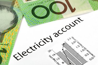 Electricity Account with Australian Money