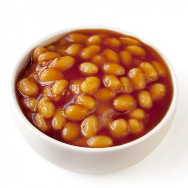 Baked Beans Isolated