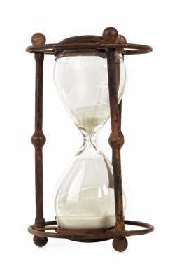 Antique Hourglass Isolated