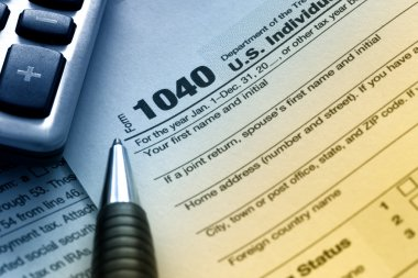 US Tax Form 1040