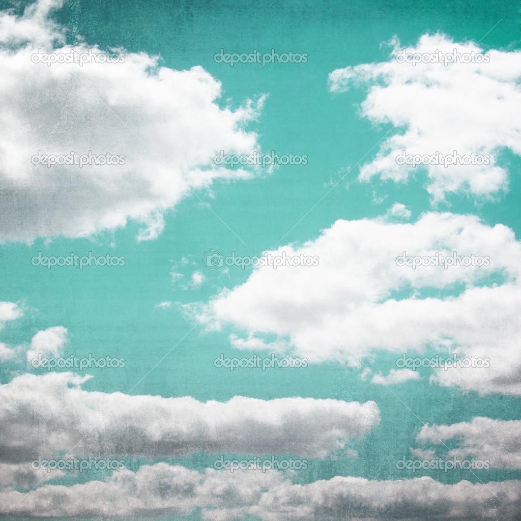 Vintage Sky Cloudscape