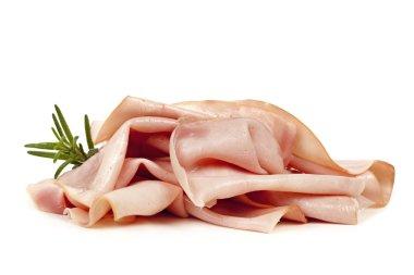 Ham Isolated on White
