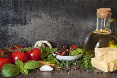 """Картина, постер, плакат, фотообои """"итальянское продовольственное происхождение"""", артикул 35174523"""