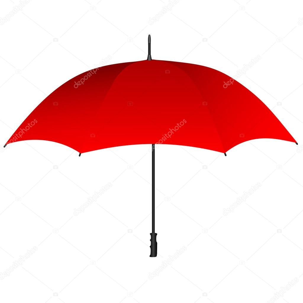 100% authentique b60ff df202 Icône de parapluie rouge — Image vectorielle greengrass ...