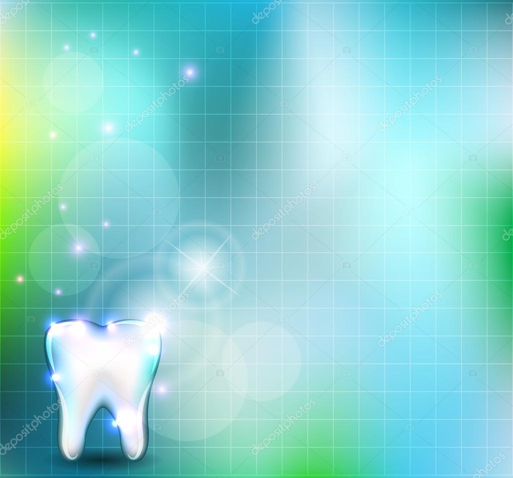 Dental Wallpaper Stock Vector