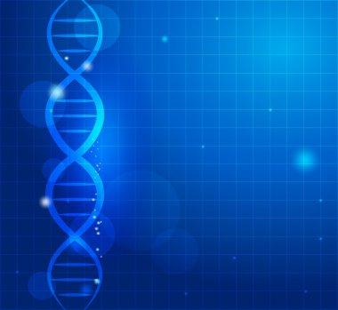 DNA chain background
