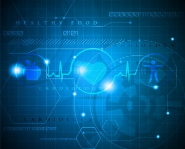 Abstract health care background