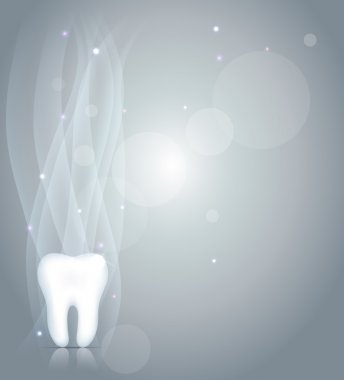 Dentistry background with tooth