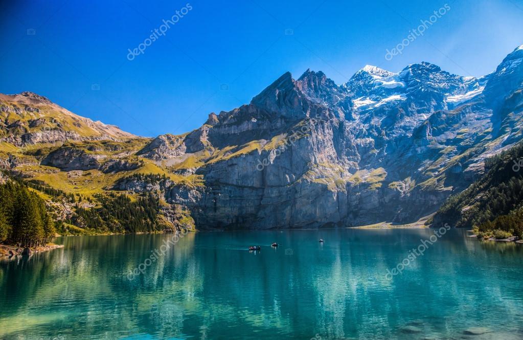 Lake Oeschinen/ Oeschinensee, Switzerland