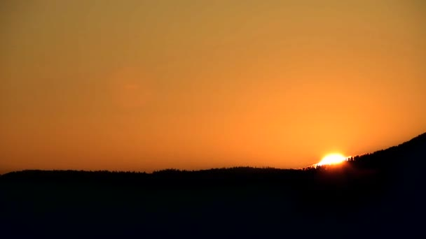 vycházející slunce