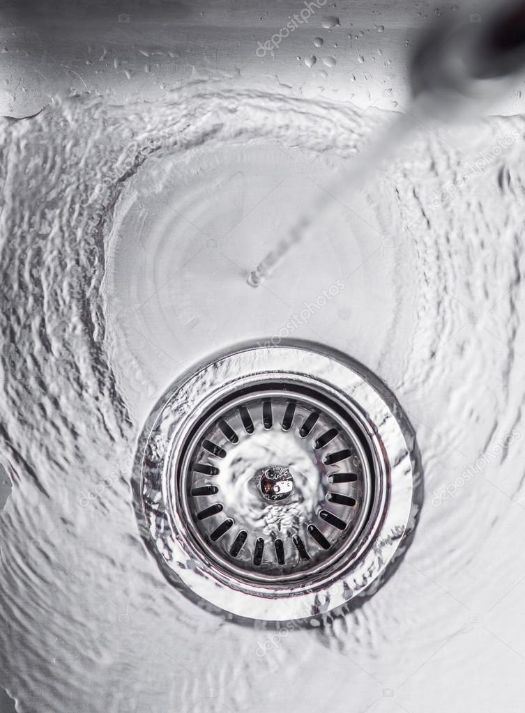 Water In Kitchen Sink