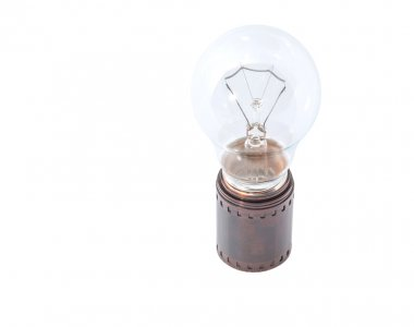 Light Bulb And Film Strip