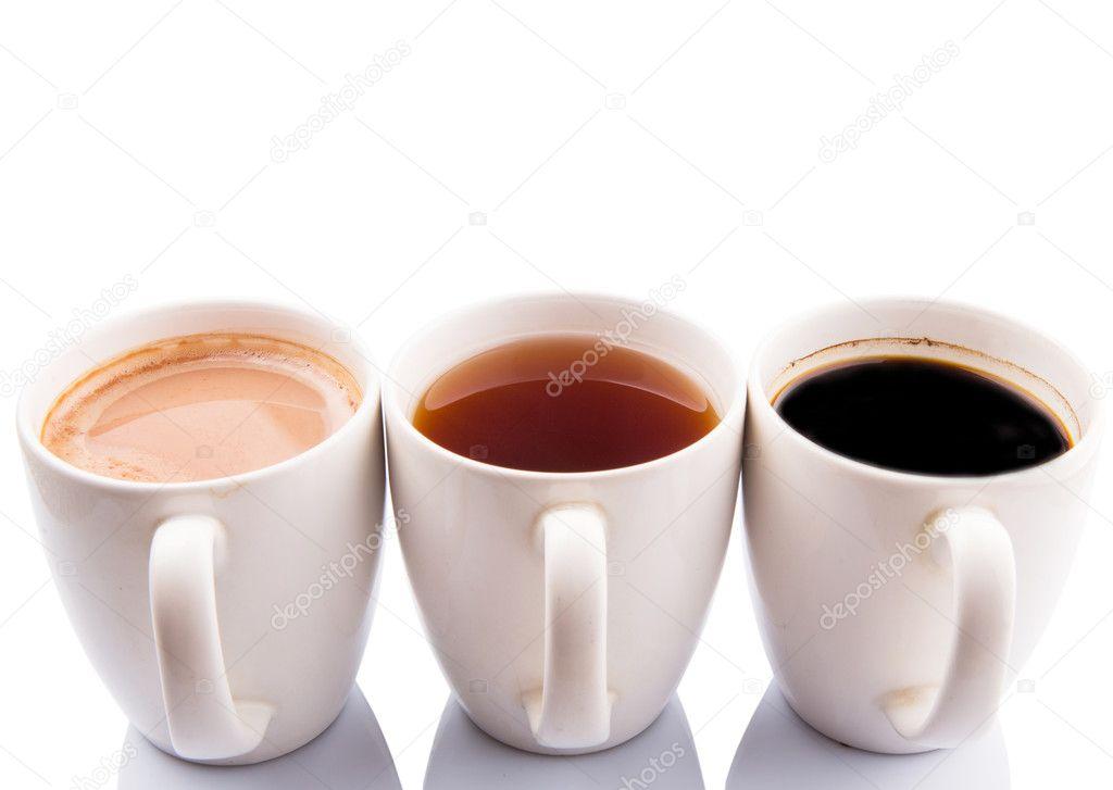 heiße Getränke in Becher — Stockfoto © akulamatiau #46802097