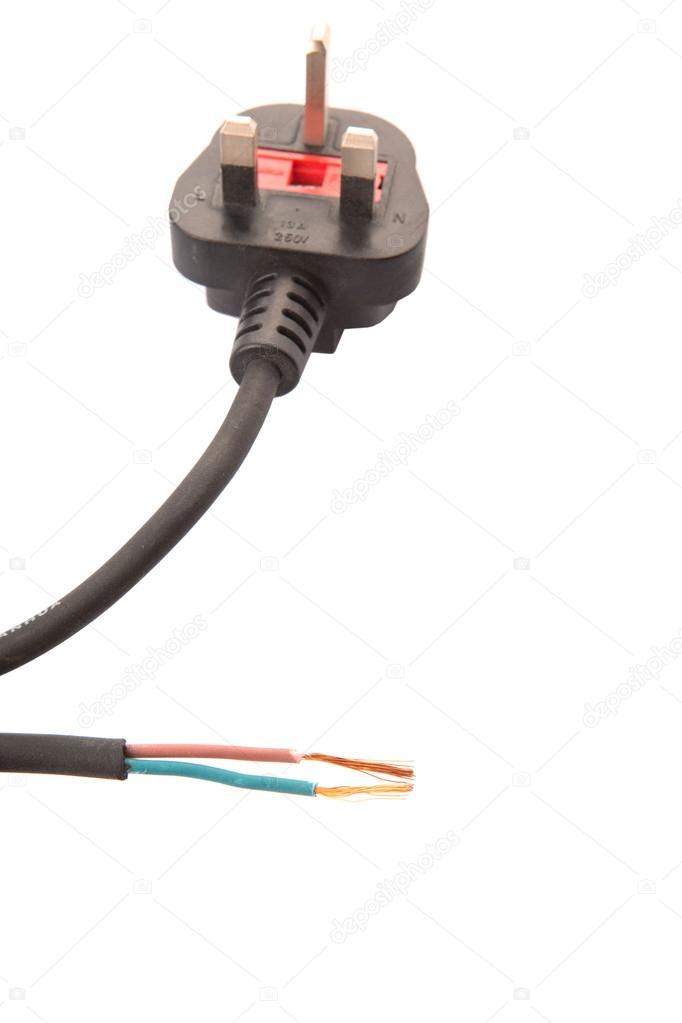 britische standard drei Pin-Netzteil Stecker und gemachten ...