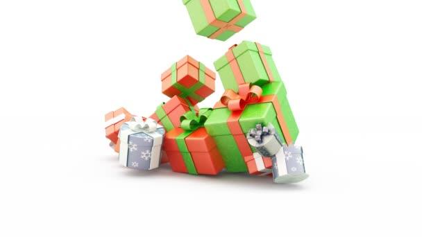 3D-s ajándék box animáció
