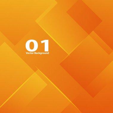 Orange vertical lines abstraction