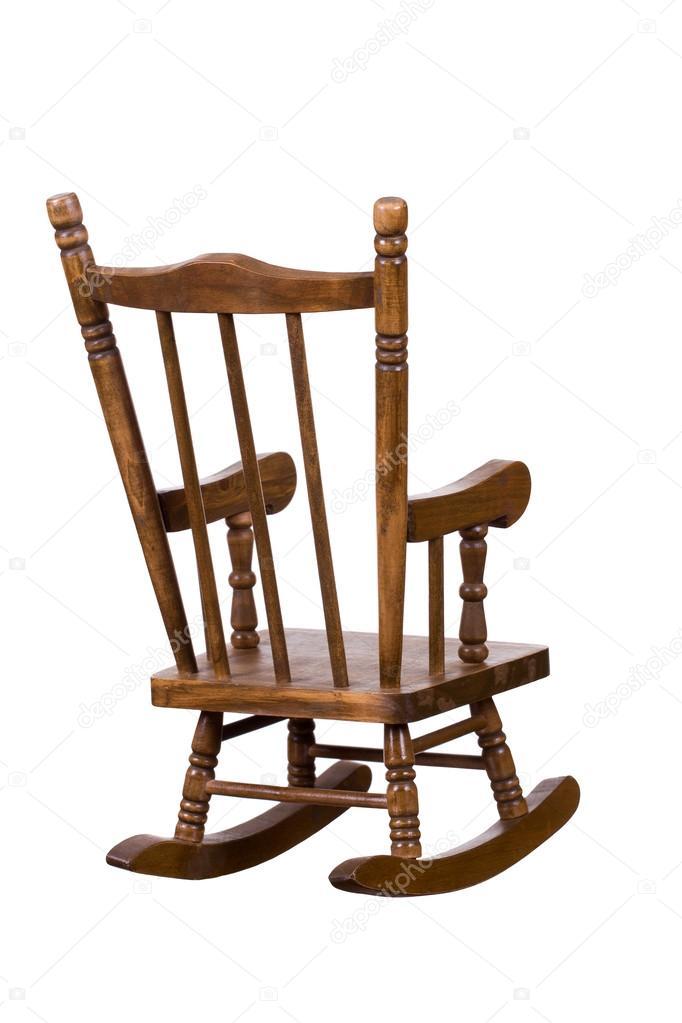 vieux fauteuil bascule en bois photographie pterwort 39514241. Black Bedroom Furniture Sets. Home Design Ideas