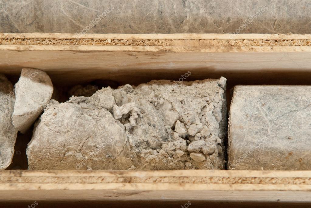 mining core samples