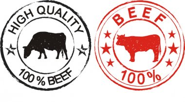 Beef - label