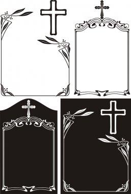 Obituary - art deco frames