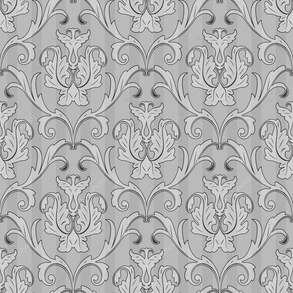 nahtlose schwarz wei tapete muster stockvektor - Tapete Schwarz Weis Muster