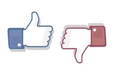 Thumb Up Like Dislike Symbol