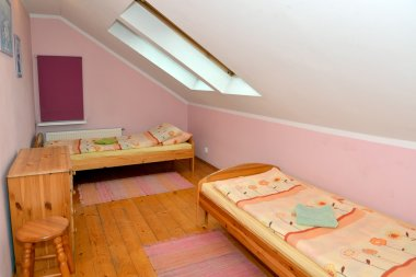 Double room in cheap hotel