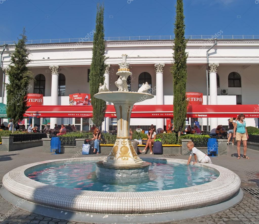 фото фонтанчика на вокзале симферополя приложение для