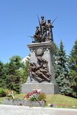 Kaliningrad. Monument to the Russian soldiers who have fallen in