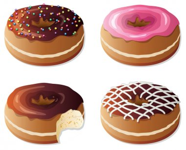 Vector donuts