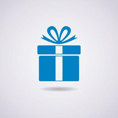 Vector gift box icon stock vector