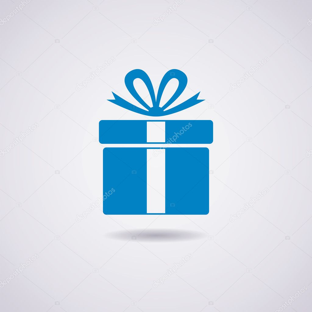 vector gift box icon — Stock Vector © dmstudio #31073811