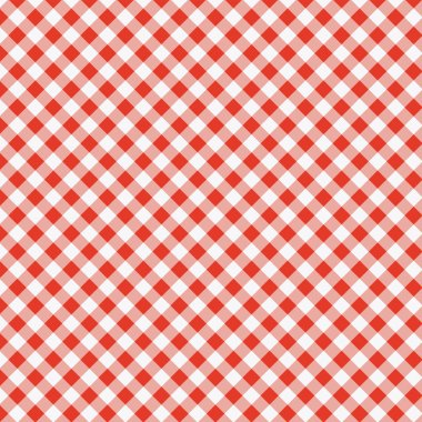 vector pattern of picnic tablecloth