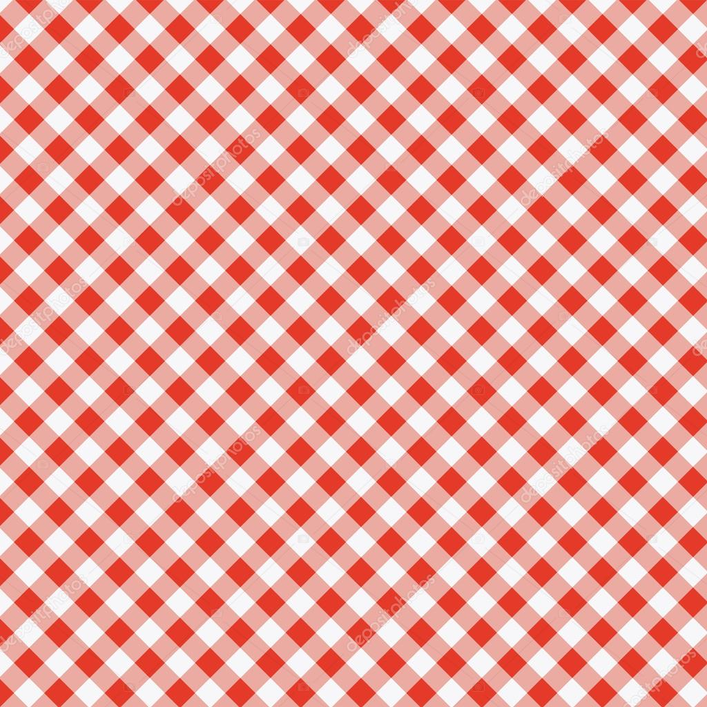 Vector pattern of picnic tablecloth stock vector for Table design patterns