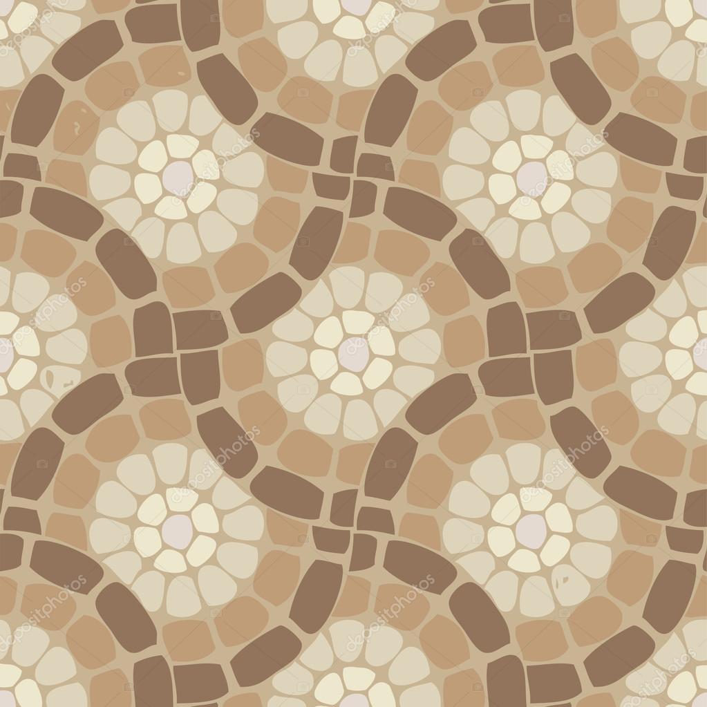 Fußboden Stein vektor fliesen mosaik fußboden stein hintergrundmuster