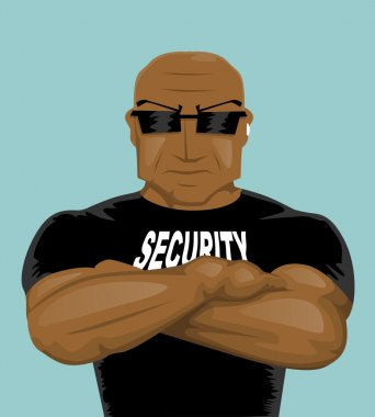 Security man