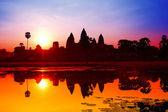 Photo Angkor Wat sunrise at Siem Reap. Cambodia