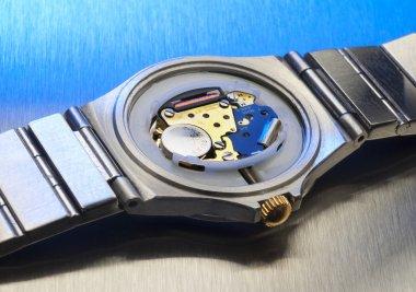 Quartz watch interior