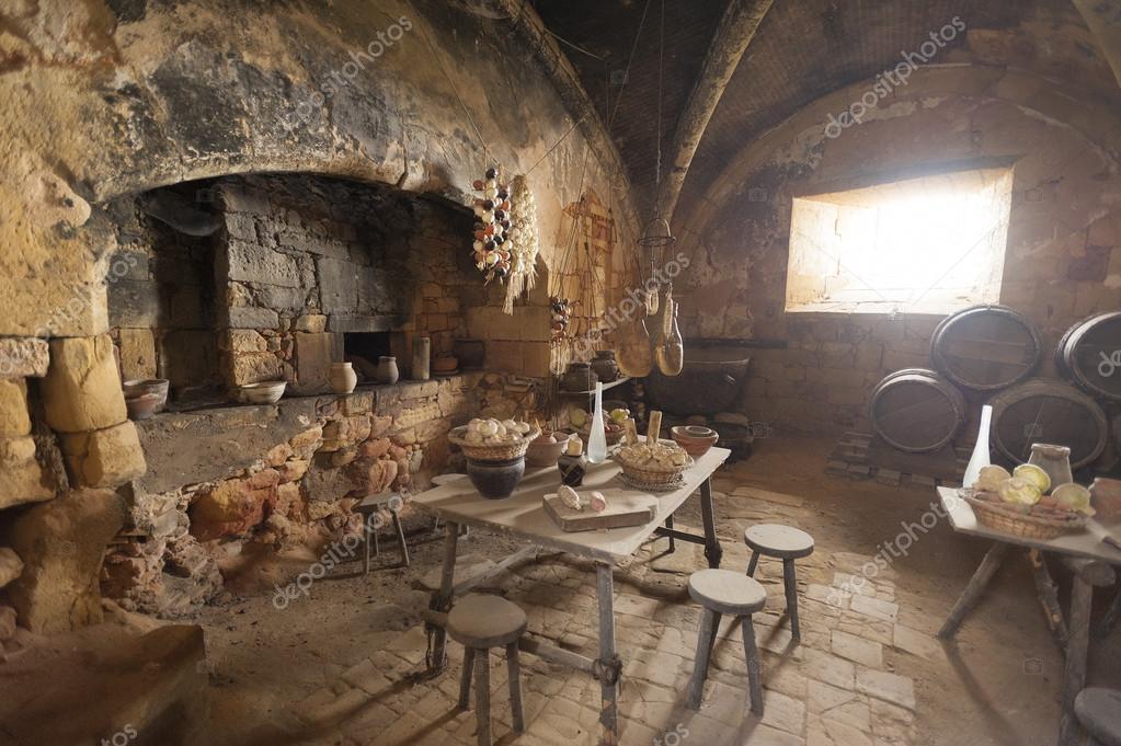 Mittelalterliche Küche U2014 Stockfoto