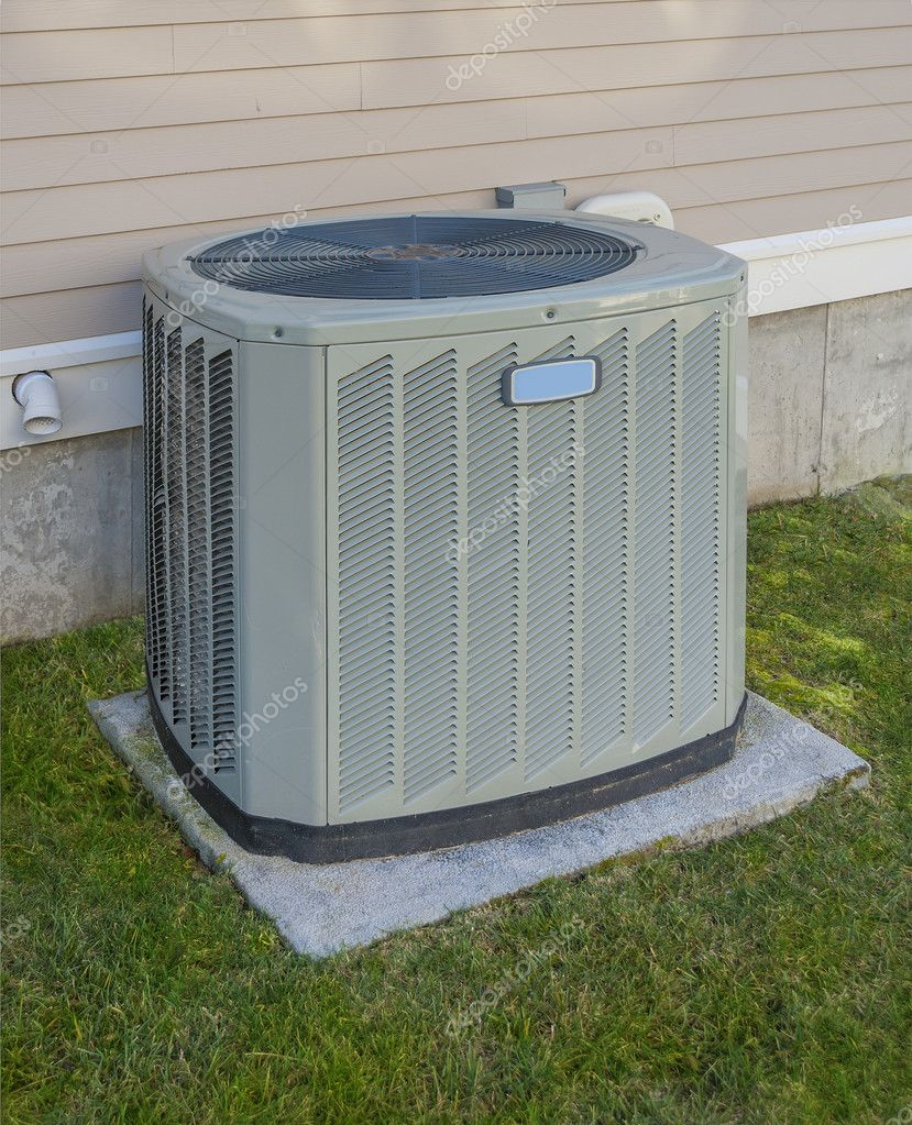 Heating and cooling unit