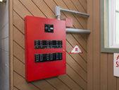 Pannello di controllo di allarme incendio