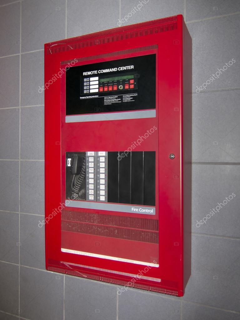 Fire alarm control box
