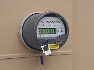 Electric utility meter