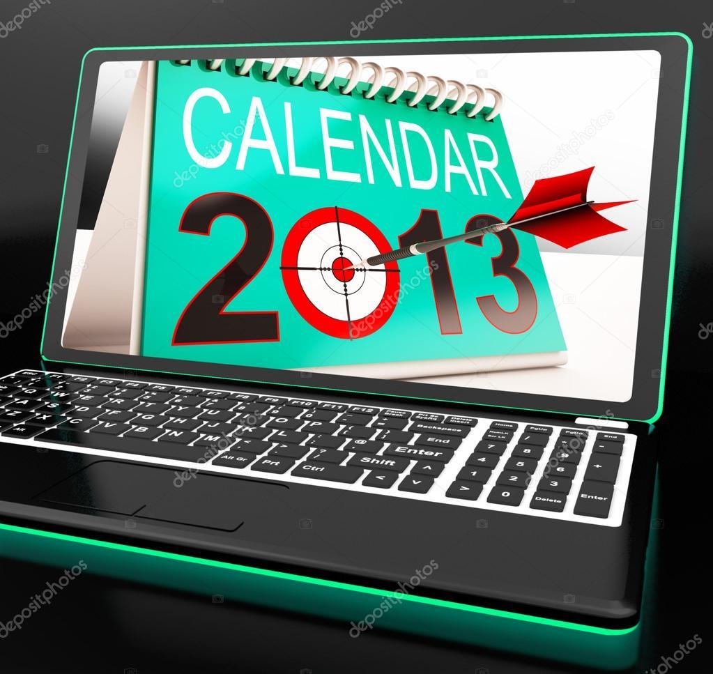 online calendar 2013