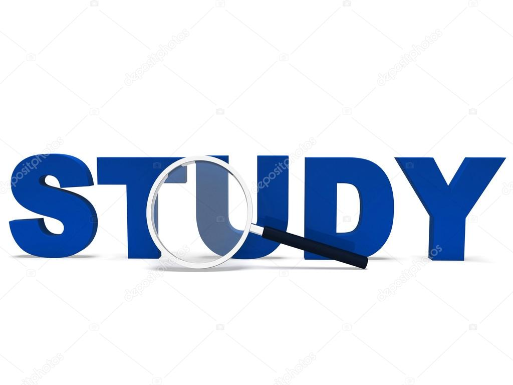 estudio muestra palabra estudiando educación o estudiante ...